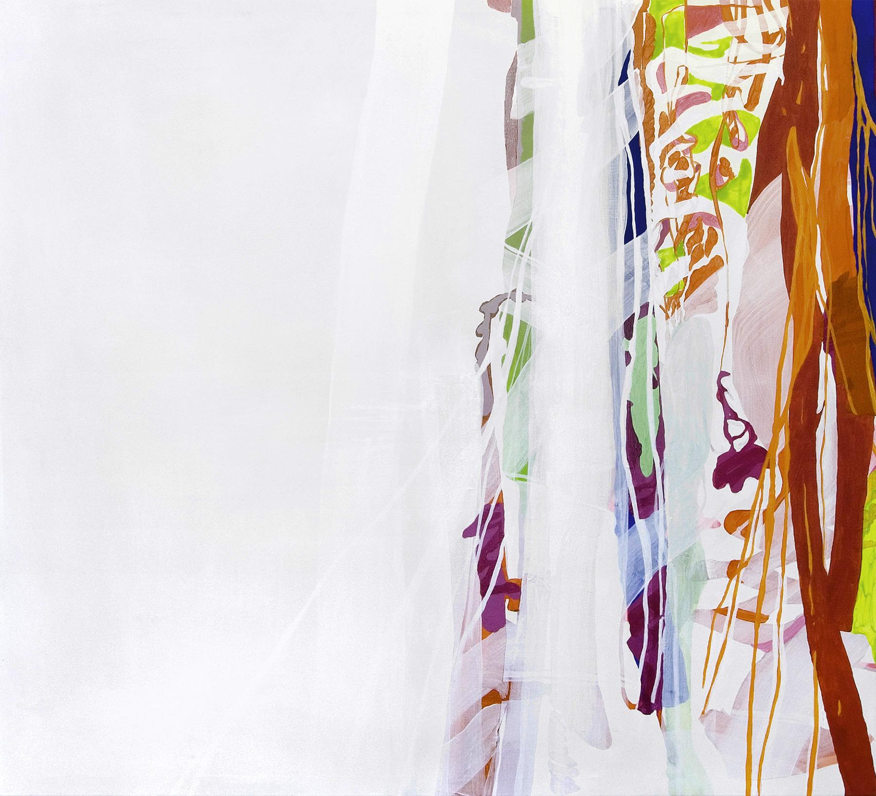 o.T.   175×160 cm, Acryl auf Nessel , 2008