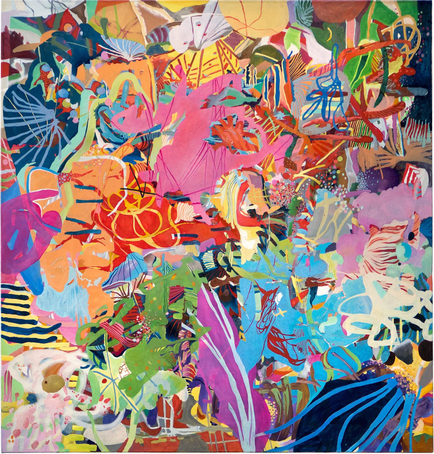 o. T. Gemälde Andreas Wolf