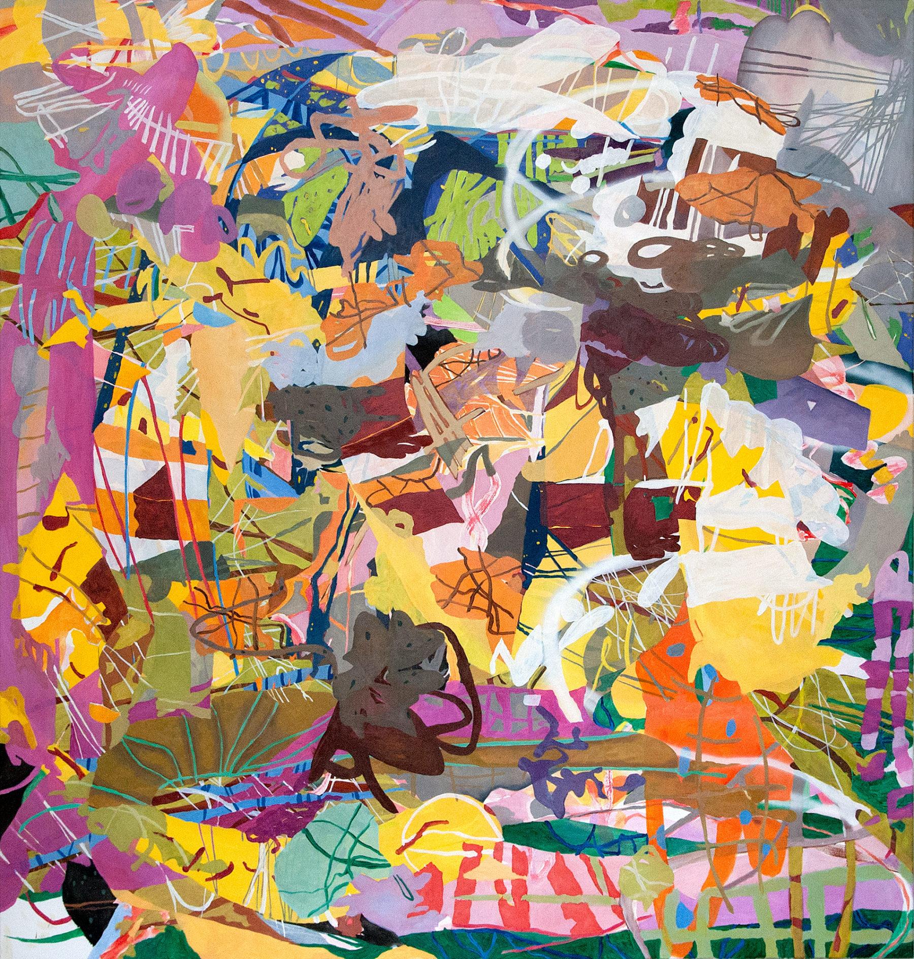 Andreas Wolf, Gemälde 2016