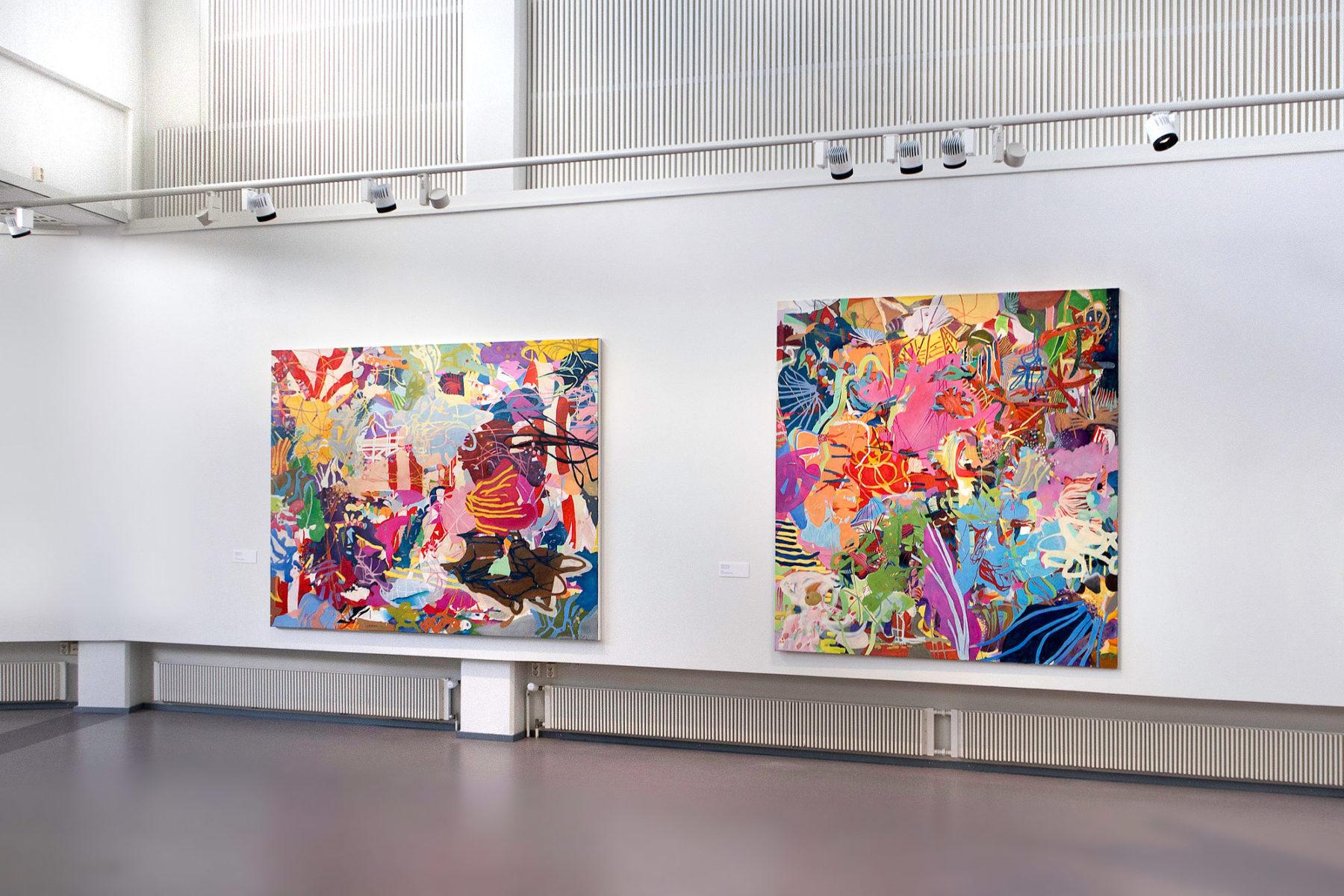 Ausstellungsansicht Museum Finnland