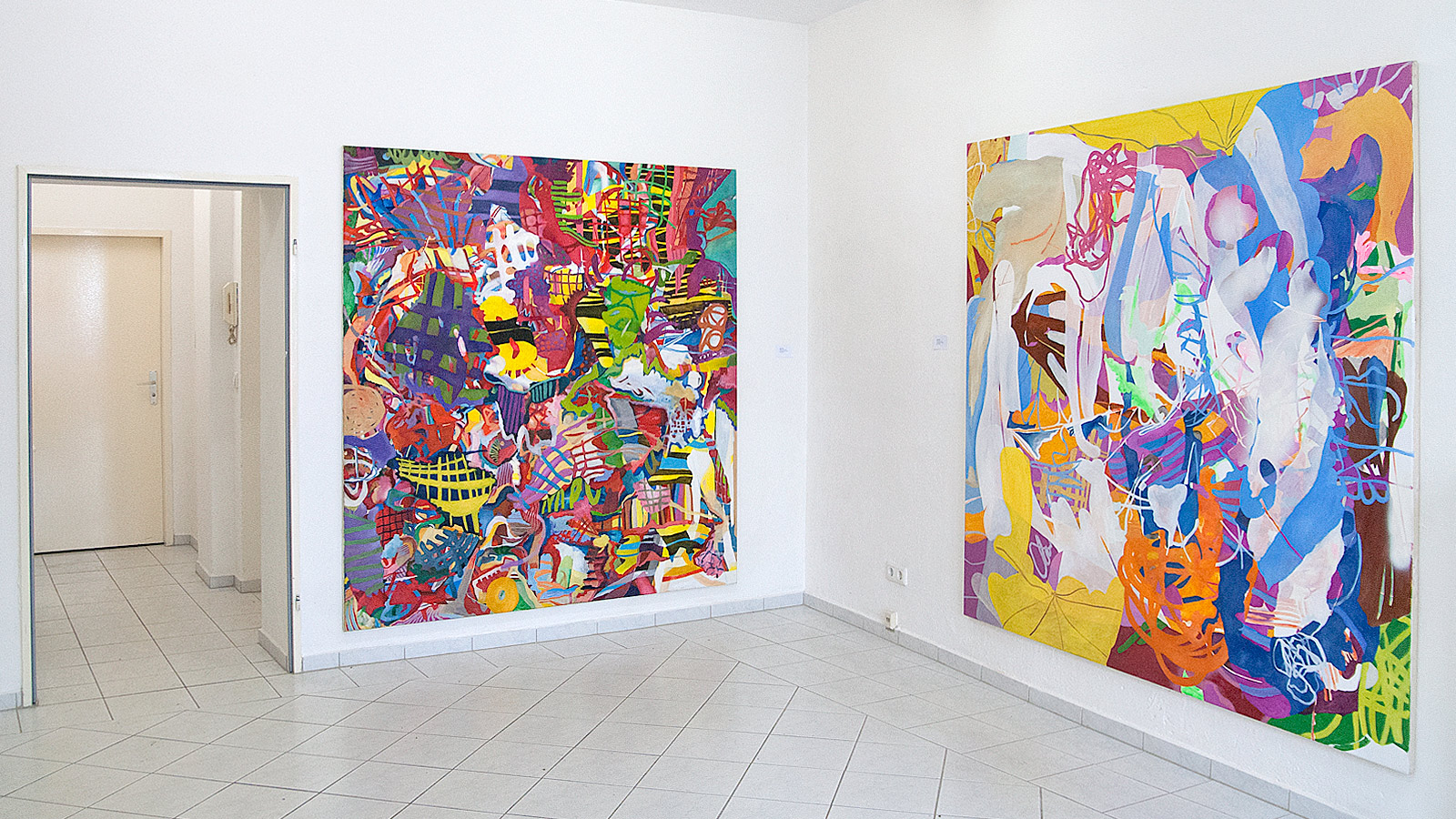 "Ausstellung ""Ohne Titel"", 2015, Toolbox Art Space Berlin"