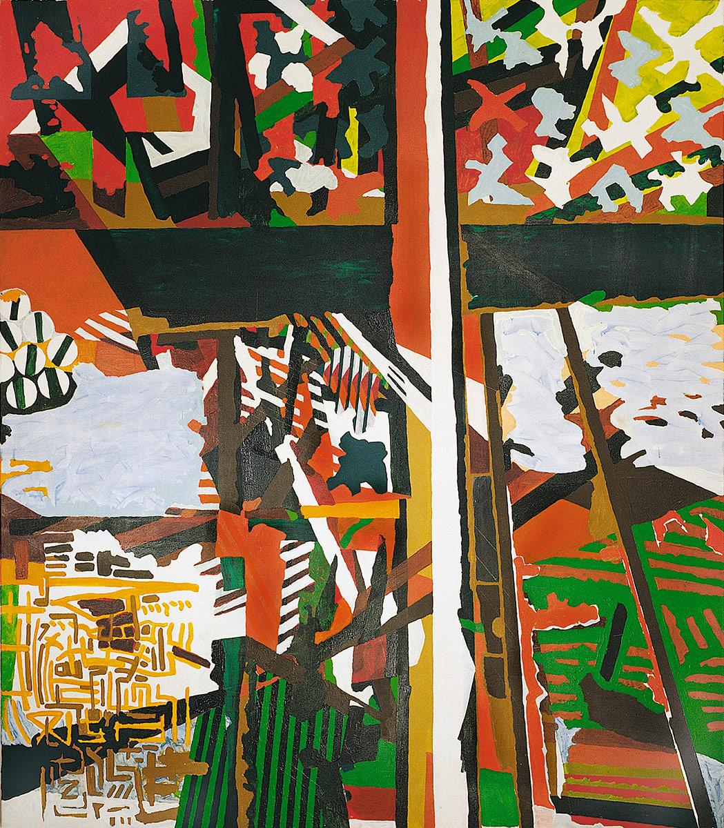 Acryl auf Nessel, 200 x 230 cm, 1998