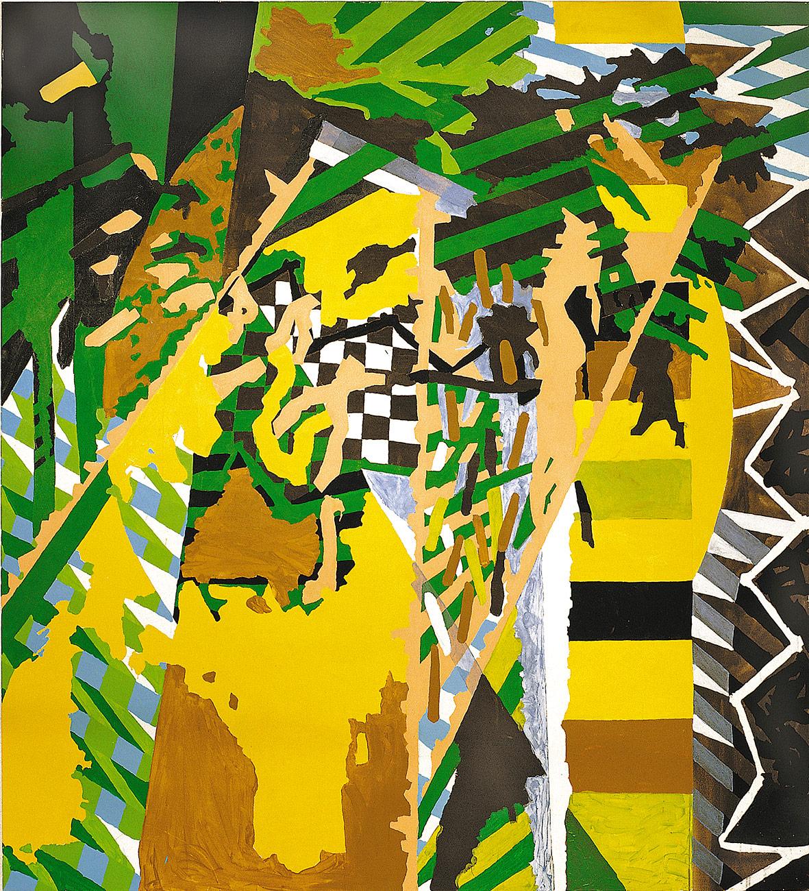 Acryl auf Nessel, 200 x 220cm, 1998