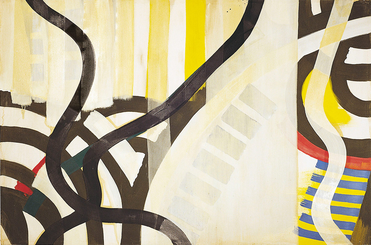 Acryl und Öl auf Nessel, 207 x 136cm, 1994