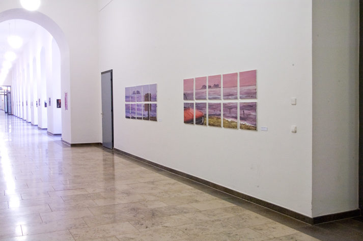 Ausstellungsansicht Artur Kurkowski