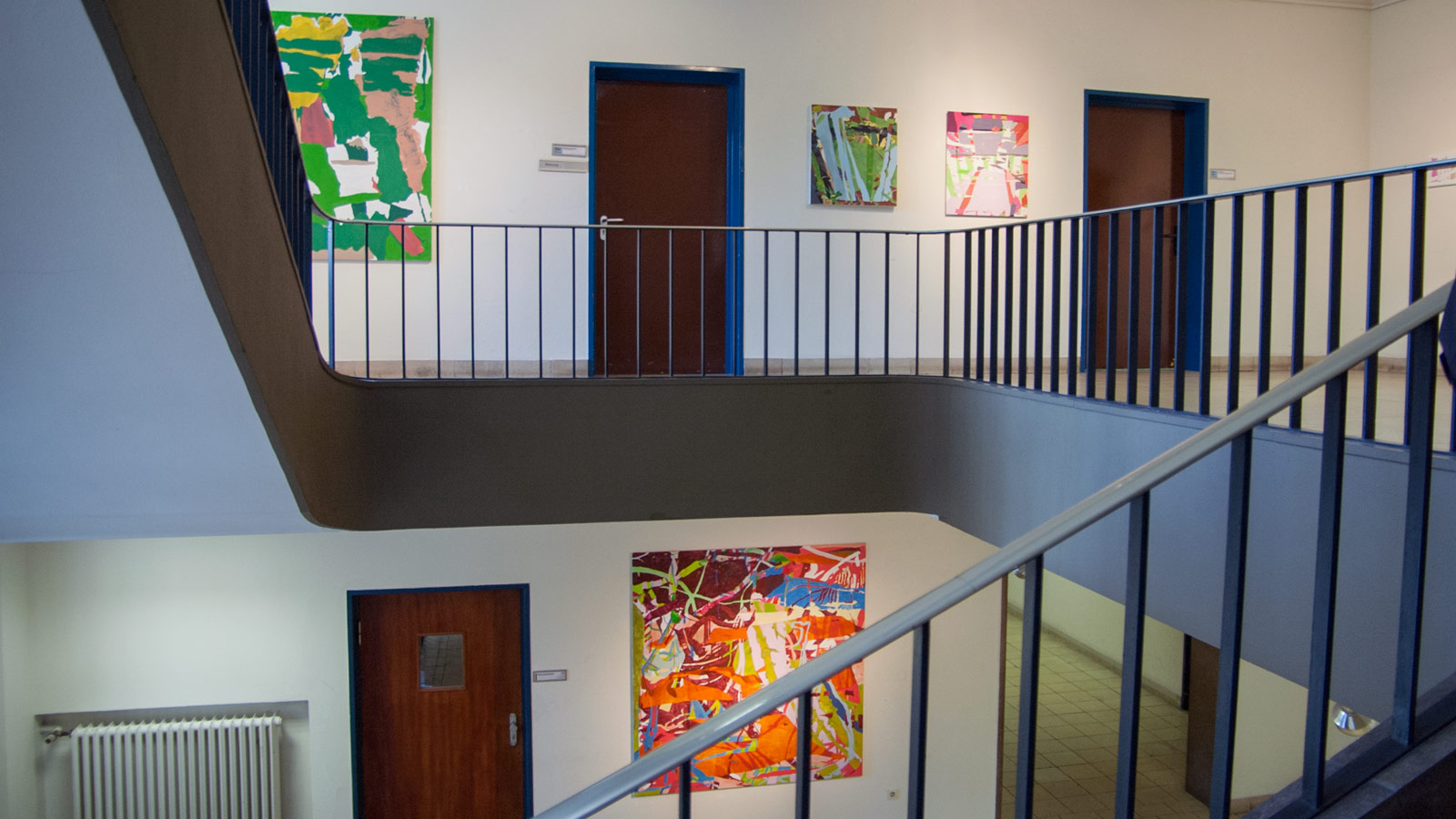 Andreas Wolf Stadtgalerie Mannheim Ausstellungsansicht