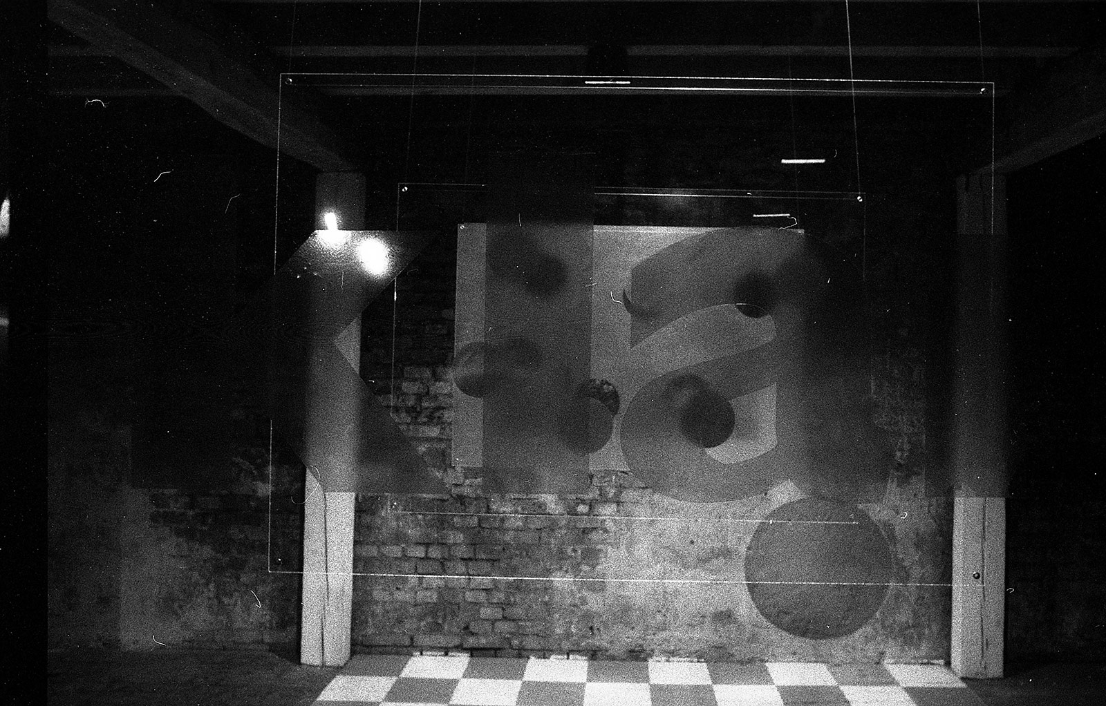 Installation in der Tabakfabrik Edingen, 1994