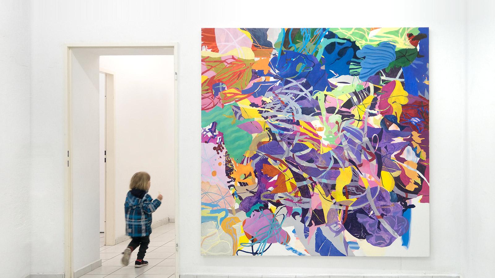 """Ausstellung: """"Manchmal denke ich, ich könnte malen"""", Toolbox Art Space Berlin, 2019"""